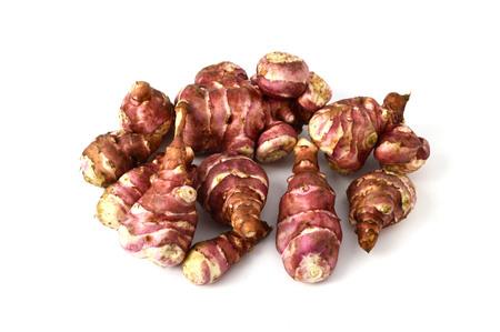 inulin: sweet potato, Jerusalem, pictures Stock Photo