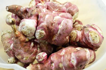 inulin: sweet potato, Jerusalem