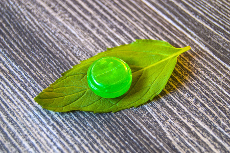 sweettooth: Mint sugar, mint-flavored candies tiny
