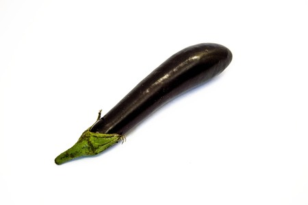 Eggplant pictures with white background