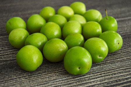 Sour Green Plums