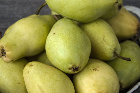 Wonderful pear pictures in a fruit basket