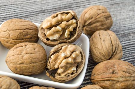dry-crusted walnut