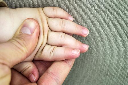 Nagel und Finger Gesundheit in Babys