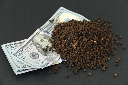 black pepper prices in the World