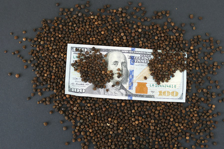 black pepper prices have increased a lot, prices of black pepper in the world, Stok Fotoğraf
