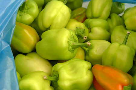 natural green stuffed peppers