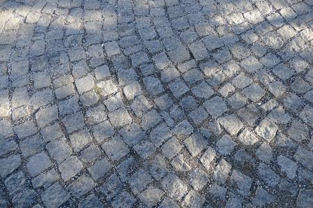 Albanian sidewalk, wonderful paving stones on the ground