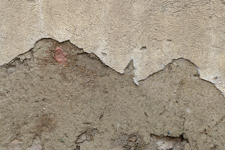 an old mudbrick wall,