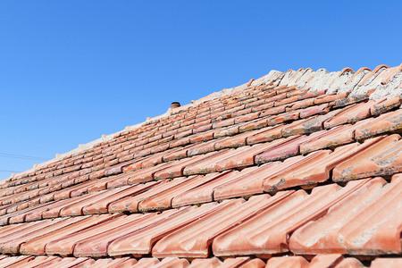 roof tiles 写真素材