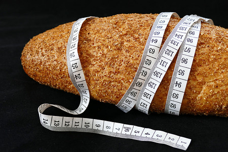 wholemeal wheat bread for slimming