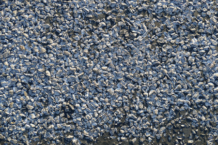 pebble and asphalt road