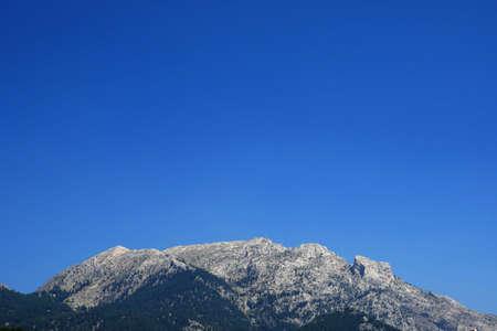 the Pozantı city and the Taurus mountains, turkey, 写真素材