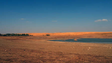 drought in continental climate, decrease in water levels, consequences of global warming,
