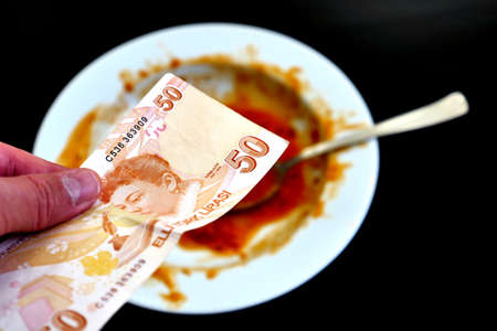 food waste, waste of food in the world, 50 Turkish lira and waste,