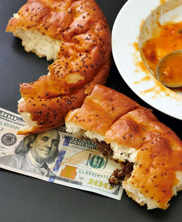 food waste, waste of food in the world, 100 US dollars and waste,