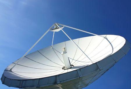 telecommunications  satellite dish Stock Photo - 6504511