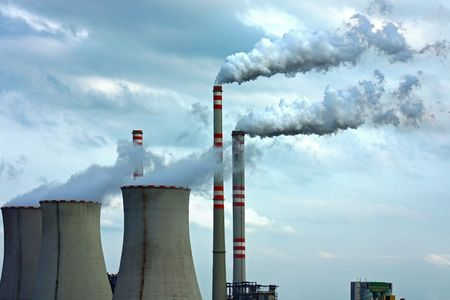 nuclear pover plant  Stock Photo - 6504508