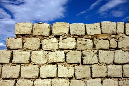 sun dry mud bricks