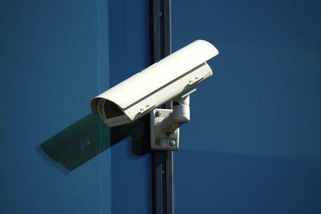 white security camera Stock Photo - 6843525