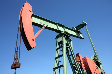 small scale crude-oil productionin in europe Stock Photo