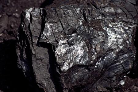 石炭構造の詳細 写真素材