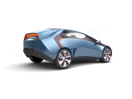 Future electric concept car 版權商用圖片