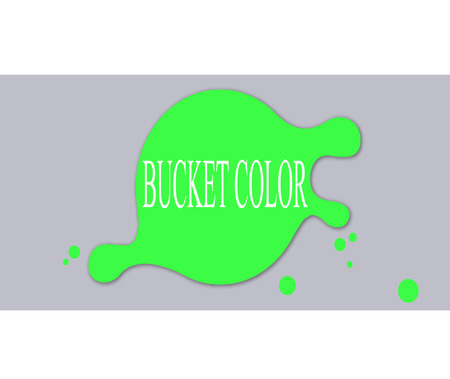another way: Bucket color Illustration