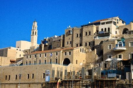 yafo: Old Jaffa Stock Photo