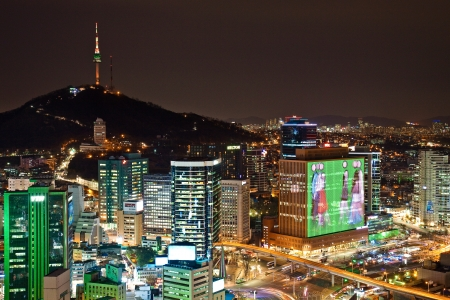 seoul: Cityscape from above