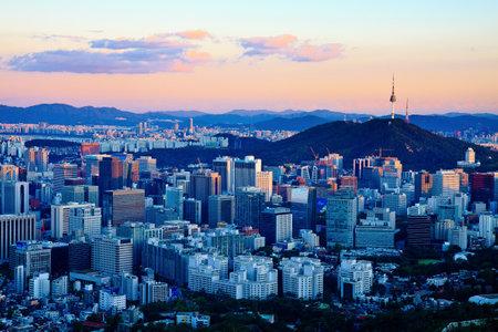 Cityscape by dusk
