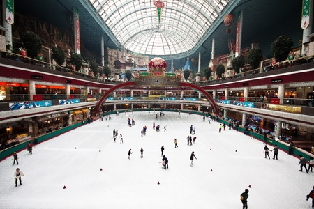 ice rink: Ice rink