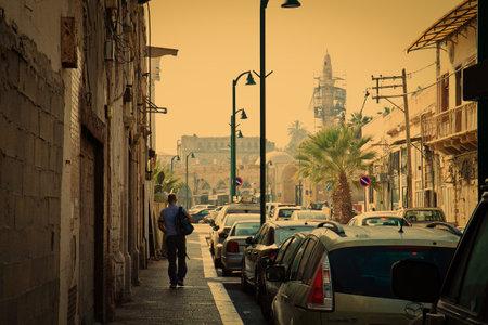 yafo: Old street