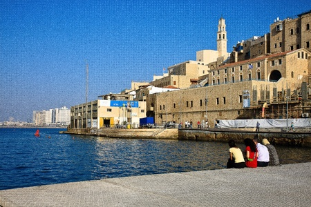 Cityscape of Jaffa Editorial