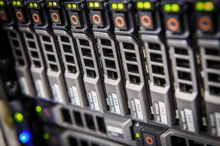 Hard disk bay of storage