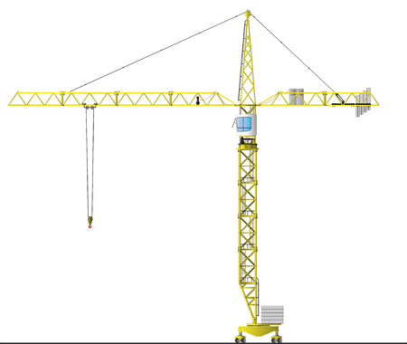 archtecture: Tower crane