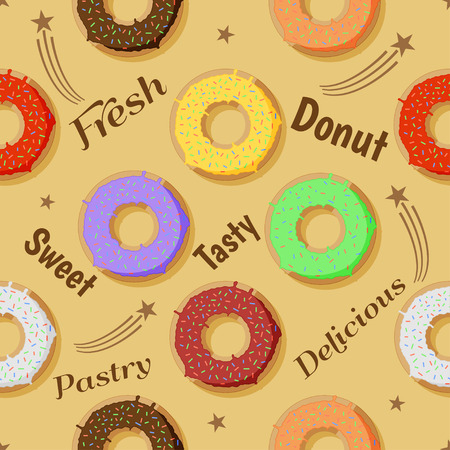 casing: Sweet donut celebration design Illustration