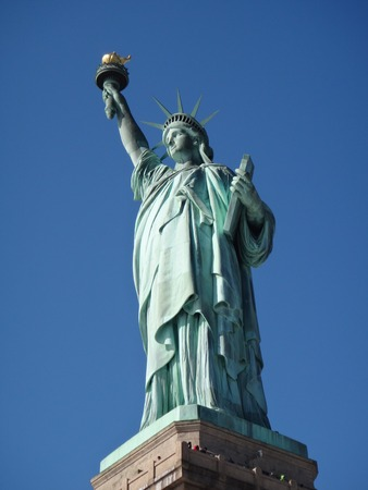 statue of liberty: Statue of Liberty Stock Photo