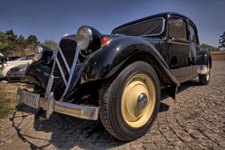 Citroën  Traction avant  parked in Petrovaradin, Serbia