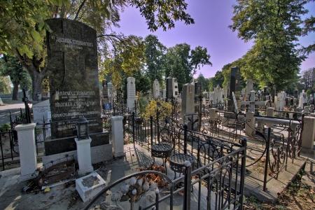 Graves in Belgrado, Servië