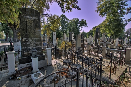 Graves in Belgrado, Servië Stockfoto