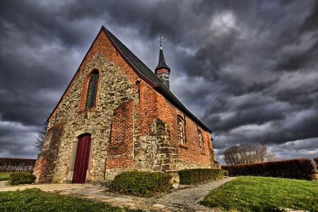 Saint Vincent kapel, Maarke-Kerkem, België Stockfoto - 26038992