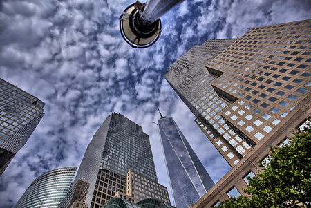 Freedom Tower, Manhattan, NY, USA Stockfoto - 26022306