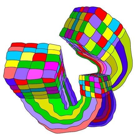 block puzzle Vector