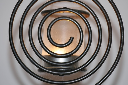 flamme: Spirallampe hell; spiral-lamp bright