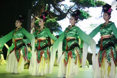 derivation: theatre of dancing in Xian  Xian, China