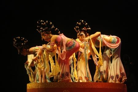 zampona: el teatro de la danza en Xi'an  Xian, China