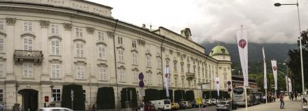 hofburg: Hofburg in Innsbruck   Tyrol in panoramic view