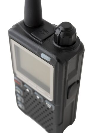 walkie-talkie isolated on white background photo