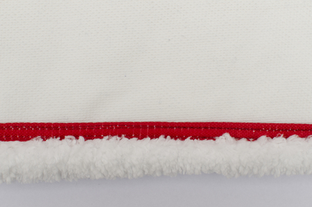 mop detail on a white background